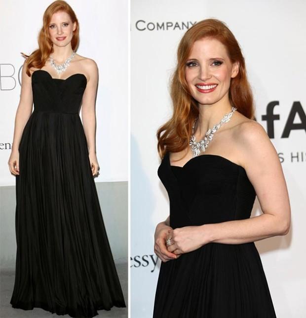 Cannes_2014_amfAR_Gala_2014_best_dressed_celebrities_Jessica_Chastain