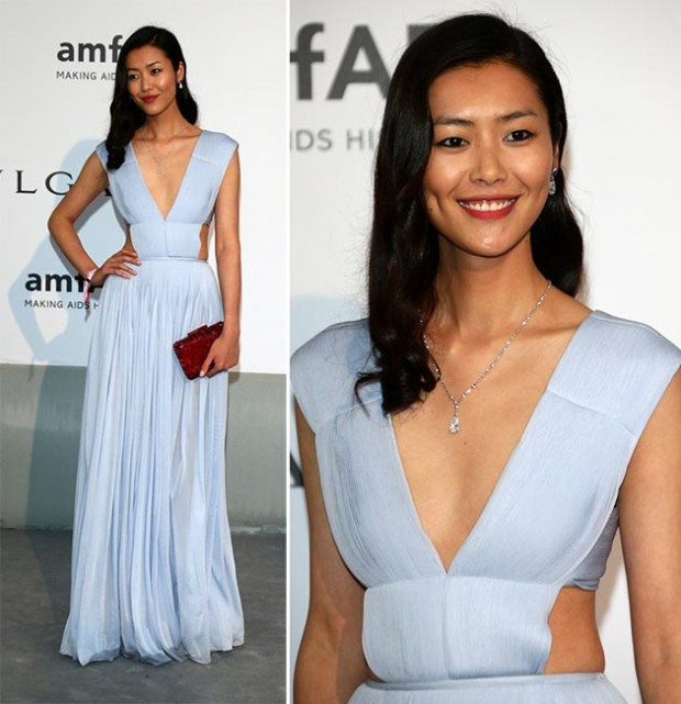 Cannes_2014_amfAR_Gala_2014_best_dressed_celebrities_Liu_Wen