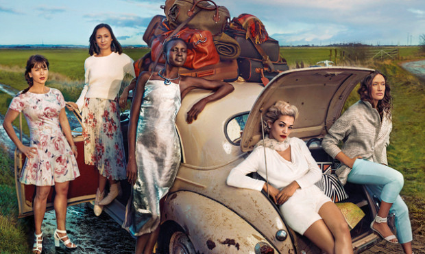 Marks & Spencer Leading Ladies Summer 2015 Campaign