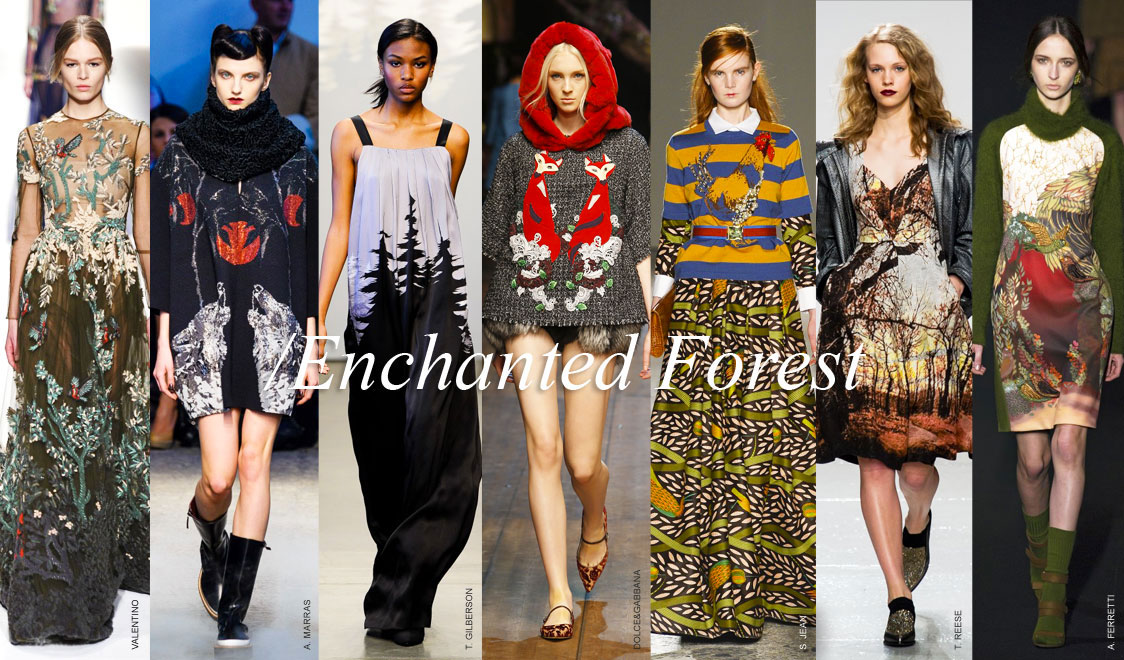 For 2015 fall and winter color prints decorate dresses and blouses