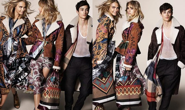 Burberry Prorsum 2015 Fall Campaign