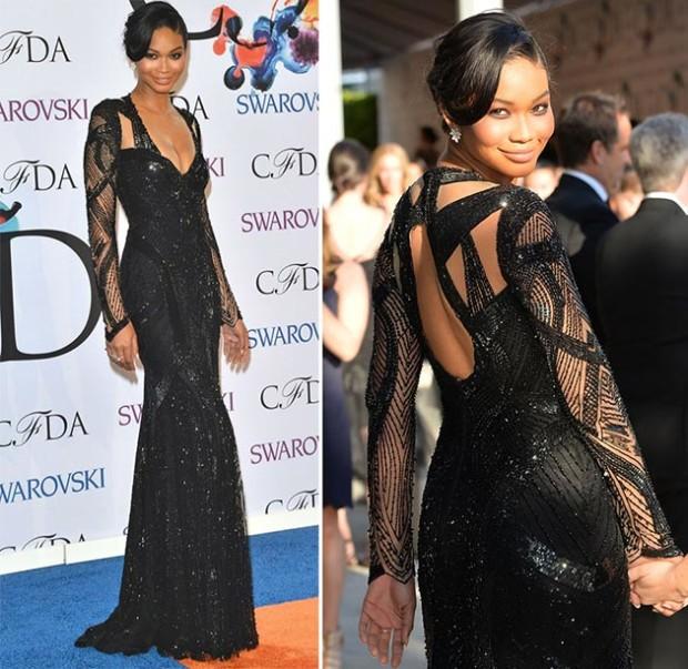CFDA_Fashion_Awards_2014_Red_Carpet_Fashion_Chanel_Iman