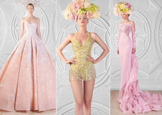 Rami Kadi Le Royaume Enchanté Couture 2015 Dress Collection