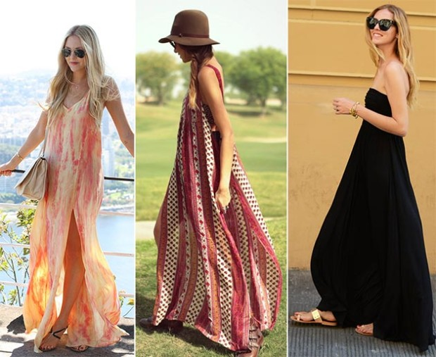 2015 Summer Fashion Trends; Maxi Skirts & Shoes