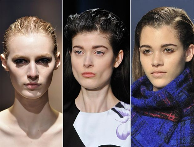 fall_winter_2014_2015_hairstyle_trends_wet_effect_hair