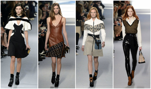 Louis Vuitton 2015 Fall/Winter Show; Paris Fashion Week