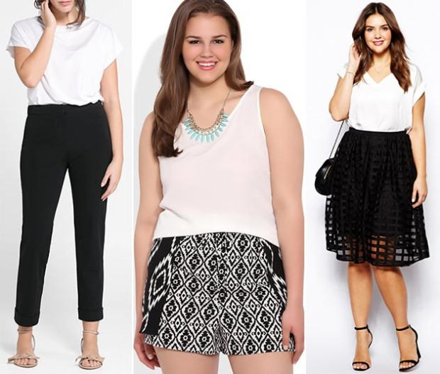 summer_2014_plus_size_outfit_ideas_black_and_white_clothing