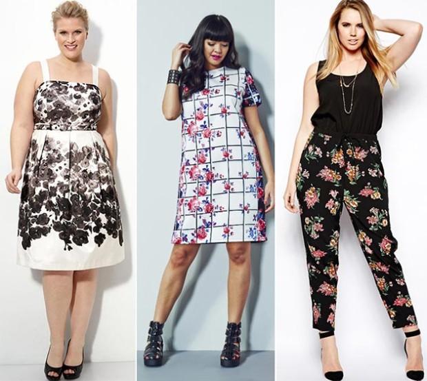 summer_2014_plus_size_outfit_ideas_floral_prints