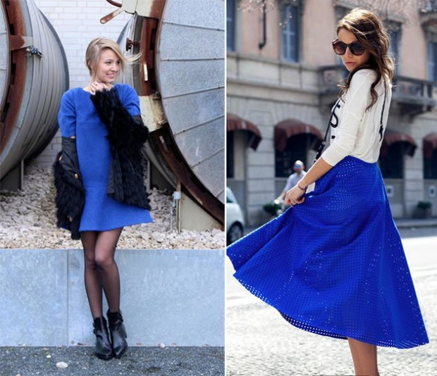 2015 Fashion Trends; How to Wear Sapphire Blue