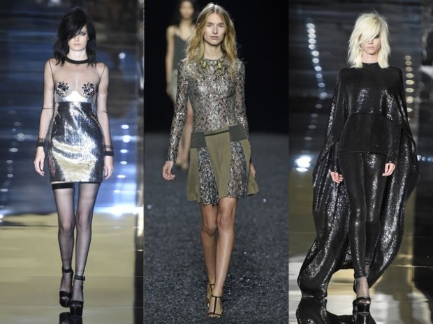 embedded_high_shine_fabrics_spring_2015_trend_london_fashion_week