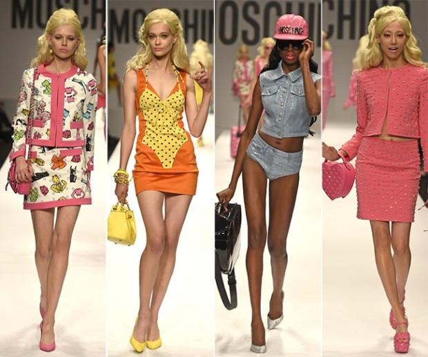 Moschino Spring/Summer 2015 Collection; Milan Fashion Week