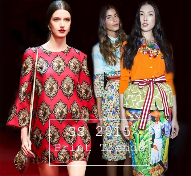 spring summer 2015 print trends